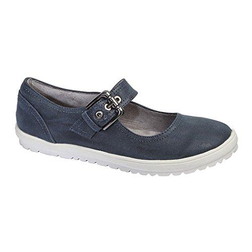 à boucles femmes Chaussures marine pour bleu Florence Boulevard Cipriata CZtqSS