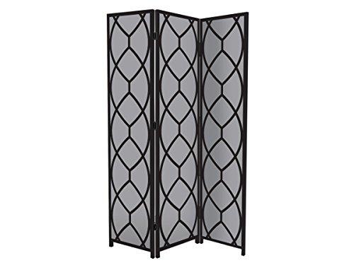 nexxt Bota Triple-Panel Floor Screen, 48 by 71 by 1-Inch, (Panel Floor Display)