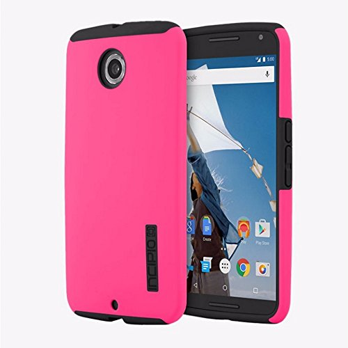 Incipio DualPro Case Cover for Motorola Nexus 6 - Pink