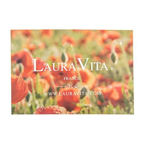 En 16 38 Anais Cuir Escarpins Fleur Laura Vita Et Noir EpFwqx