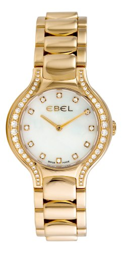 Ebel Women's 8256N28/991050 Beluga Yellow Gold Diamond Watch