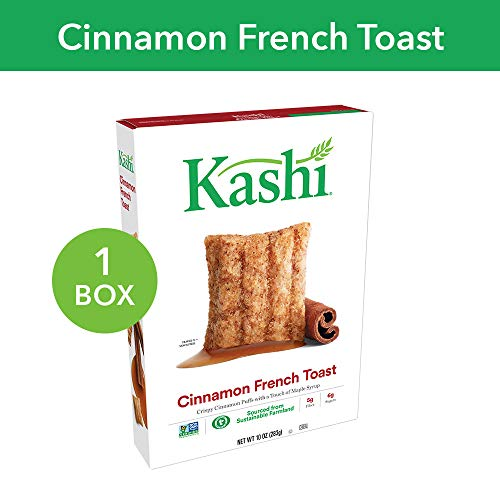 Kashi, Breakfast Cereal, Cinnamon French Toast, Non-GMO Project Verified, 10 oz ()