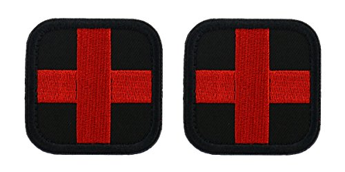 Velcro Cross - Bausweety Medic Cross Tactical Patch 2 Pieces