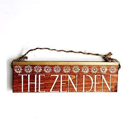 CPWood Cb638399 - Cartel de Buda de Zen Den, 7 x 30 cm ...