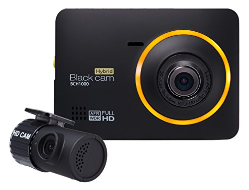 Blackcam BCH-1000 Hybrid FullHD DashCam 32GB + GPS (Black)