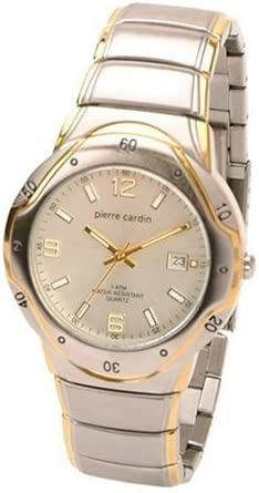 Pierre Cardin Gents Two Tone Bracelet Watch D265w Amazon Co Uk Watches