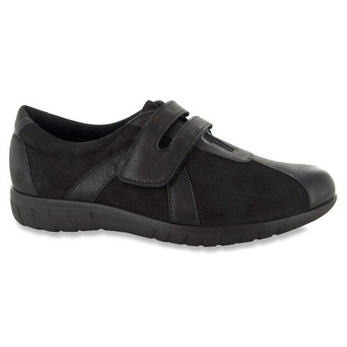 Munro Womens Jewel Black Leather Oxford – 10 M