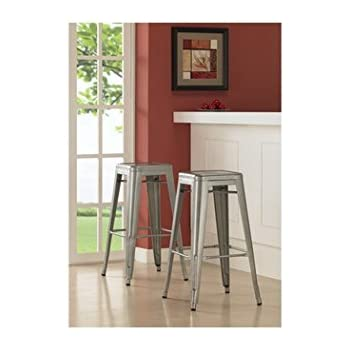 Tabouret 30-inch Metal Barstools (Set of 2).  sc 1 st  Amazon.com & Amazon.com: Tabouret 30-inch Metal Barstools (Set of 2).: Kitchen ... islam-shia.org