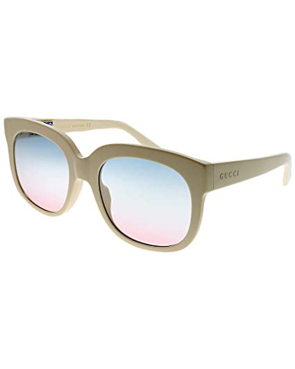 b052b78b8c6 Sunglasses Gucci GG 0361 S- 002 IVORY MULTICOLOR  Amazon.co.uk  Clothing