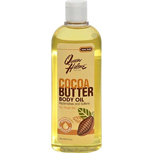 Queen Helene Natural Cocoa Butter Moisturizing Body Oil - 10 fl oz (Cocoa Butter Massage Oil)