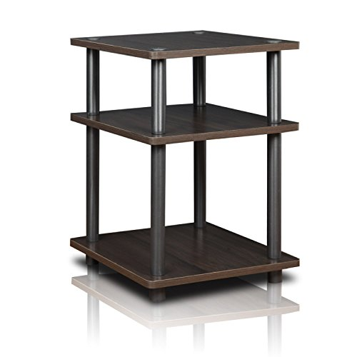 Furinno 11058EX/BK Turn-S-Tube Wide TV Entertainment Center (Printer Table Stand)
