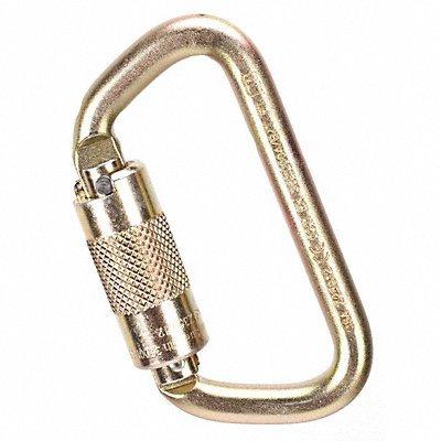 MSA Carabiner Steel 4-3/16 in L Auto-Lock