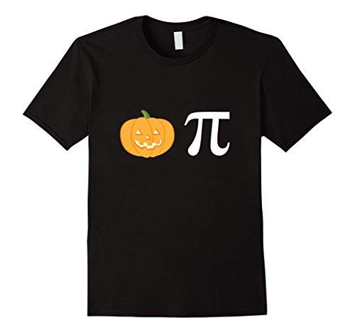 Mens Pumpkin Pi T-Shirt for Halloween - Cute Funny Pumpkin Pie Medium - Wear Do Nerds For Halloween What