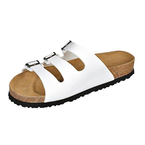 JOE N JOYCE Paris SynSoft sandals narrow White k5OzE