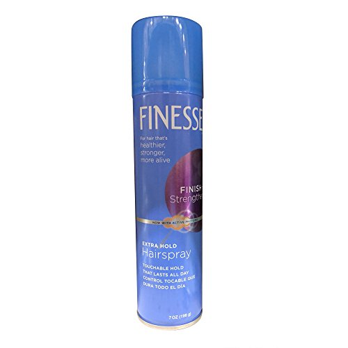 - Finesse Finish + Strengthen, Extra Hold Hairspray 7 oz (Pack of 6)