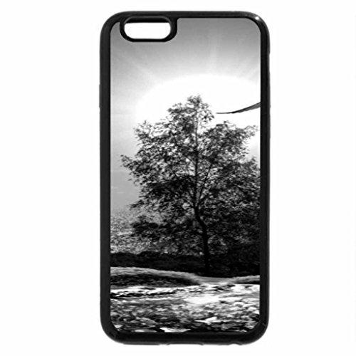 iPhone 6S Plus Case, iPhone 6 Plus Case (Black & White) - Summer Sun