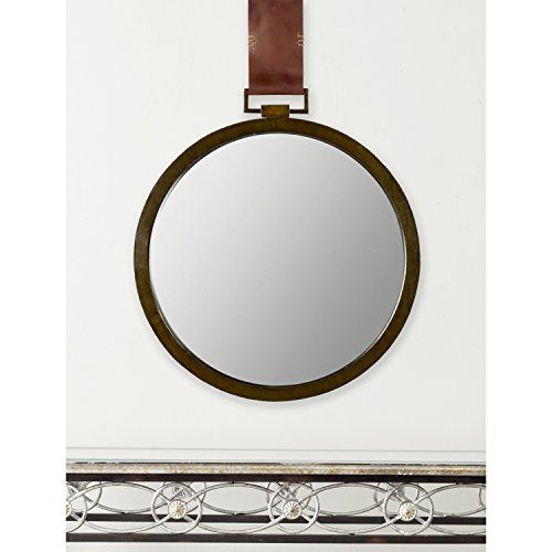 - Safavieh Home Collection Time Out Mirror, Warm Amber