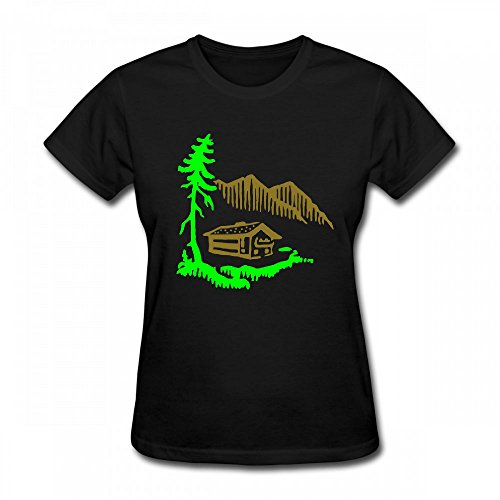 For Shirt T Landscape qingdaodeyangguo Alps Women Design Shirt AP7dnO0