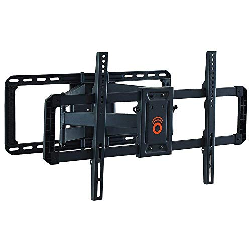 ECHOGEAR Full Motion Articulating TV Wall Mount Bracket for 42″-80″ TVs – Easy to Install On 16″, 18″ or 24″ Studs & Features Smooth Articulation, Swivel, Tilt – EGLF2 (Renewed)