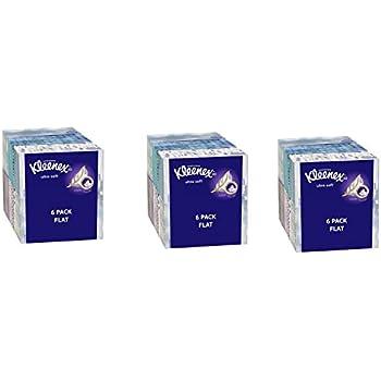 Kleenex Ultra Soft Facial Tissues, Medium Count Flat, 170 ct HhfjMq, 18 Pack. Designs May Vary