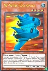 W-Wing Catapult - LCKC-EN083 - Ultra Rare - 1st Edition - Legendary Collection Kaiba Mega Pack (1st Edition) (W Wing)