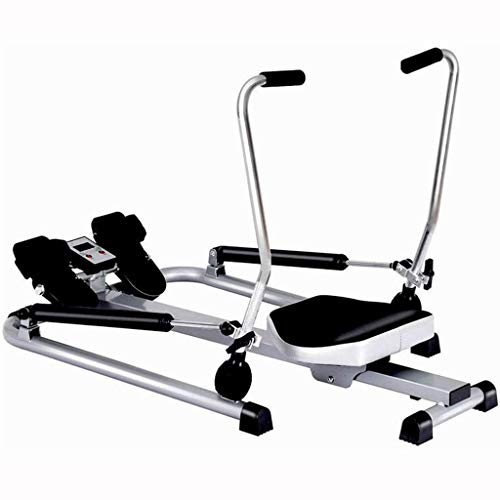 ZJZ Roeienmachine Thuis Indoor Roeimachine, Full-body Training Water Rowing Machine, Multifunctionele Mannen En Vrouwen…