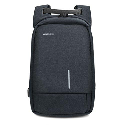 Sac--Dos-PC-pour-Ordinateur-Portable-156-tanche-antivol-Antichoc-Anti-Rayures-Lger-avec-Port-de-Charge-USB-pour-Homme-Gameur-Business-Loisir-Travail-Scolaire-30L-Gris-Fonc