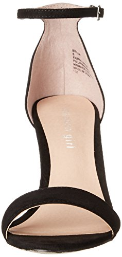 Madden Girl Women's Beella Dress Sandal Black Fabric cheap sale wholesale price 7JPkEt