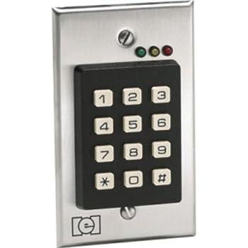 IEI 212i Indoor Flush-mount Keypad Iei I Keypad Wiring Diagram on alarm lock keypad wiring, dsc keypad wiring, iei security keypads for doors, linear keypad wiring, iei keypads 212i manual,