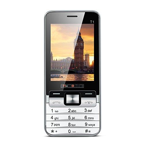 Padgene Seniorenhandy Großtastenhandy für älterer Menschen mit Kamera Dual Simkarte Smartphone ohne Vertrag T1 (Weiß)