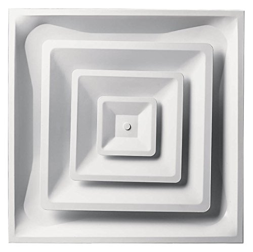Accord Ventilation ABCD2X2 Ceiling Diffuser, 24 x 24, White
