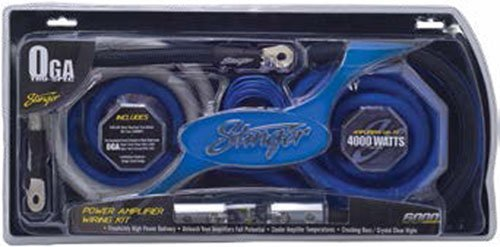amazon com stinger 0 gauge 6000 series 4000 watt amp amplifer rh amazon com Rockford Fosgate 4000 Watt Amp Pioneer 4000 Watt Amp