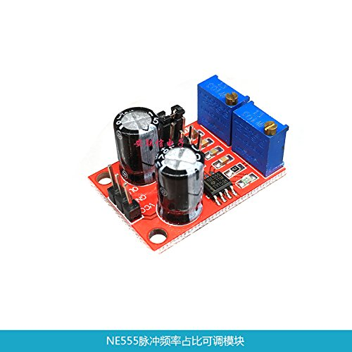 Price comparison product image Ngkc3C NE555 Pulse Generator Pulse Frequency Adjustable Duty Cycle Square Wave Rectangular Wave Signal Module, Stepper Motor