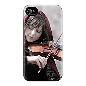 Snap-on Beautiful Music Case Cover Skin Compatible With Iphone 4/4s