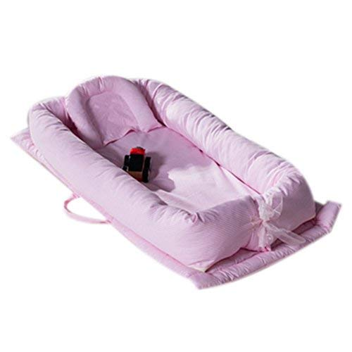 Learn More About Baby Bassinet for Bed, V-mix Baby Co-Sleeping Cribs & Cradles Lounger Cushion with ...