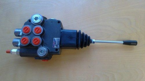 2 spool hydraulic JOYSTICK control valve 21gpm, monoblock...