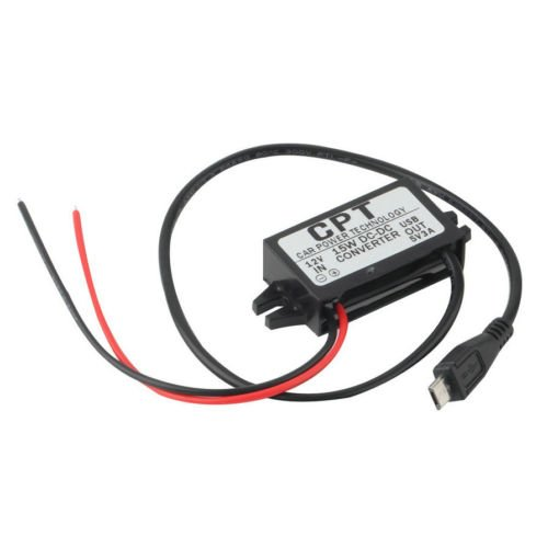 Alicenter Car Charger DC Converter Module 12V To 5V 3A 15W w