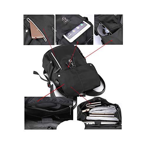 610b77b43740 Amazon.com: NYDZDM Men's Casual Backpack Fashion Trend College ...