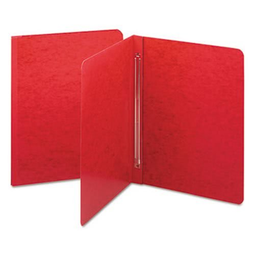 Smead 81252 Side Opening PressGuard Report Cover Prong Fastener Letter Bright Red