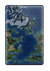 Excellent Design Final Fantasy 7 World Map Cases Covers For Ipad Mini