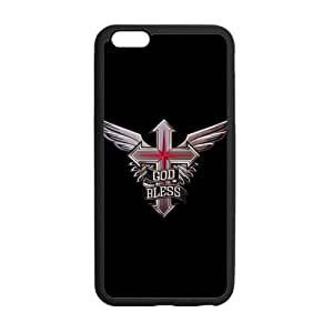 Umak Winged Cross God Bless Popular Iphone Cover Shell Artistic Design Personalized Cover Case for iPhone6 Plus 5.5
