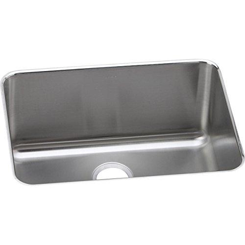Elkay ELUH231710 Lustertone Classic Single Bowl Undermount Stainless Steel Sink ()