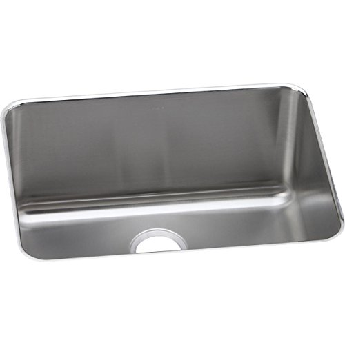 Elkay ELUH231710 Lustertone Classic Single Bowl Undermount Stainless Steel Sink