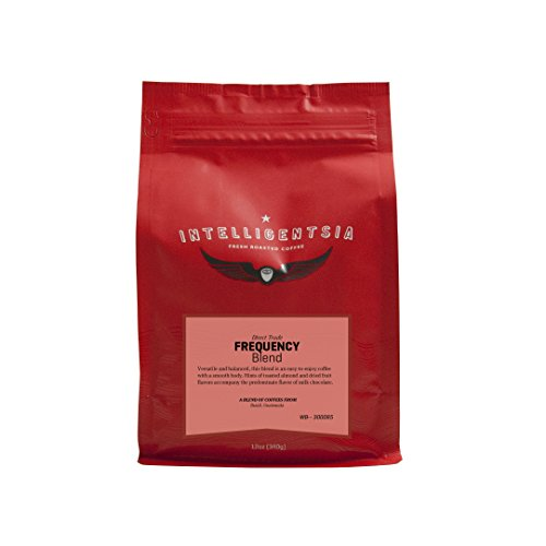 Intelligentsia Coffee Frequency Blend Direct Trade Whole Bean, Medium Roast, 12 oz