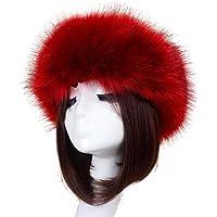 TAORE Womens Winter Hat Faux Fur Headband Cap Headgear Earwarmer Earmuff Snow Hat