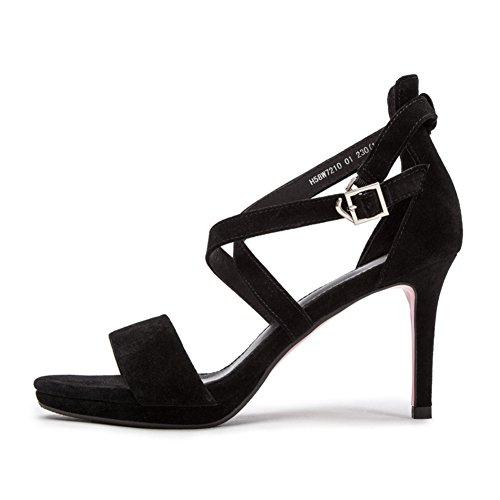 PUMPS Damen Schuhe,High Heel,Bag and Cross Band Sandalen-A Fußlänge=23.8CM(9.4Inch)