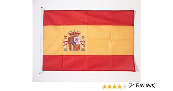 AZ FLAG Bandera de ESPAÑA 90x60cm Uso Exterior - Bandera ESPAÑOLA ...
