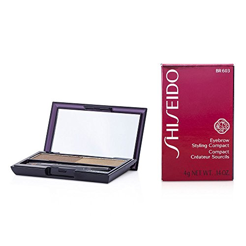 SHISEIDO by Shiseido Eyebrow Styling Compact - # BR603 Light Brown --4g/0.14oz for WOMEN ---(Package Of 4) by Shiseido