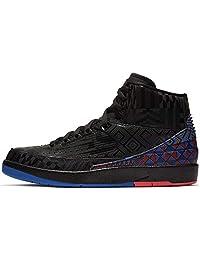 Nike Air Jordan 2 Retro BHM Bq7618-007 Bq7618-007 - Zapatillas para Hombre (Talla 9,5), Color Negro y Dorado metálico