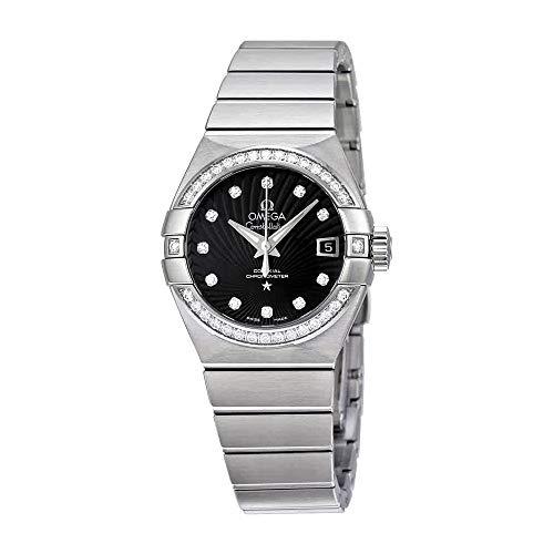 - Omega Constellation Chronometer Automatic Diamond Ladies Watch 123.15.27.20.51.001